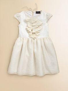 Fendi - Toddler's & Little Girl's Silk Logo Print Dress from Saks at 150 WORTH.