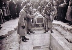 November 8, 1920, The entombing of the unknown soldier under the Arc de…