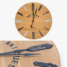 Relógio Fechaduras 91 cm | A Loja do Gato Preto | #alojadogatopreto | #shoponline | referência 74068937