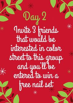 Christmas Post, Christmas In July, Christmas Colors, 12 Days Of Xmas, Street Work, Wooden Roses, Interactive Posts, Tastefully Simple, Party Nails