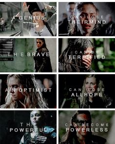 Raven, Octavia, Clarke, and Lexa - The 100