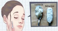 Say hello to this natural facial cleanser with coconut oil and baking soda, and say goodbye to wrinkles and sagging facial skin! This is how to use coconut oil and baking soda to look 10 years youn… Baking With Coconut Oil, Coconut Oil Uses, Natural Facial Cleanser, Natural Face, Face Cleanser, Natural Shampoo, Facial Serum, Facial Hair, Tips And Tricks