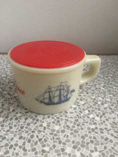 A personal favorite from my Etsy shop https://www.etsy.com/uk/listing/492517723/1960s-old-spice-shaving-mug-with-lid