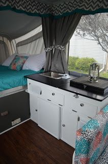 A blog detailing our Pop Up Camper Remodel.