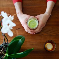 """Need a little comfort on such a rainy day ? Well, try my """"Matcha Latte"""" Recipe, which is up on the blog right now ;) <3 Matcha Latte Recipe, Afternoon Tea, Sweet Treats, Posts, Dessert, Ethnic Recipes, Blog, Sweets, Messages"""