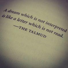 Dream interpretation quote