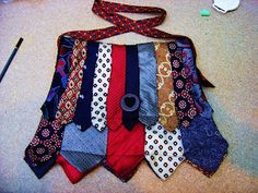bag made from neckties