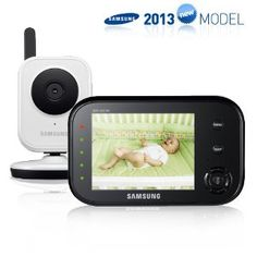 Samsung SEW-3036WN Wireless Video Baby Monitor with Infrared Night Vision and Zoom, 3.5 inch $179