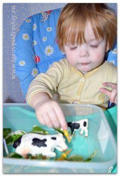 """Тематическая неделька """"Домашние животные"""" для детей от 1 до 2 лет."""