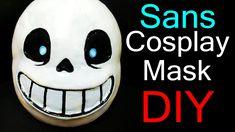 Undertale Cosplay - Sans mask Tutorial (Delu's)