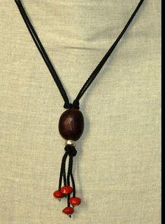 Collier ethnique en graine d'eglise et œil de bœuf Sea Beans, Bracelets, Necklaces, Bijoux Diy, Handmade Beads, Diy Fashion, Diy Jewelry, Iris, Washer Necklace