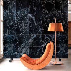 18 dingen die wij in 2016 wél willen zien in huis   Marmerbehang - Piet Hein Eek   ELLE Decoration NL
