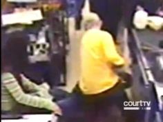 Store Owner knocks out Robber!
