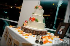 Rustic cake // rustic cake table // rustic wedding