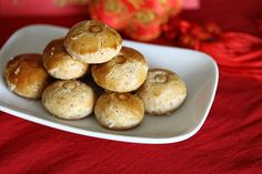 Chinese New Year Peanut Cookies #GrowMethod