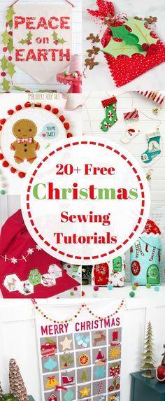 20 Gifts And Decor To Sew Tor Christmas