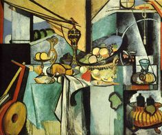 Henri Matisse - Still Life after Jan Davidsz. de Heem's 'La Desserte' 1915