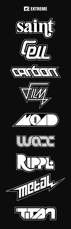 Extreme Logos on Behance