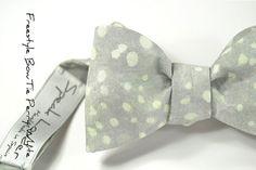 self-tie Wedding Mens Bow Tie Perry White  Blush by speaklouder