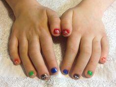 NASCAR nails for kids