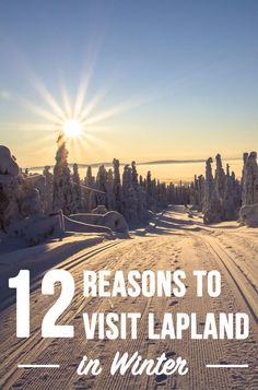 Visiting Lapland, Finland, in winter: plenty of unique winter activities, heaps of snow and memories for life. See what you can do above the Arctic Circle, where to actually go and how to go about practicalities. Covered cities/resorts: Rovaniemi, Levi, Ylläs, Kemi. #finland #lapland #rovaniemi #winter #adventure