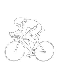 focus cycling sports coloring pages coloring pages for kids track cycling cyclists