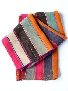 Bolivian Frasada Wool Rug/Blanket #6