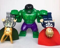Hulk Smash Brothers #lego #legominifigures #legominifigs #minifigures #hulk #hulksmash #thor #thorragnarok #loki #marvel #legomarvel #legomarvelsuperheroes #legophoto #legophotography #toysphotography #toygroupbrasil #toyart #esferatoy #toyartistry_lego #toptoyphotos_lego #legostagram #legogram #instalego #legomania #legocollector #legobrasil #desafiolegobra