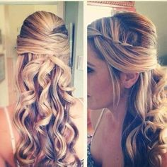 KK's hair style idea - Love it! really pretty