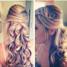 KK's hair style idea - Love it! really pretty