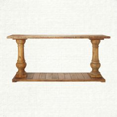 View the Hudson Console Table from Arhaus. Constructed of 100% reclaimed pine, the Hudson occasional group showcases beautiful balustrade legs with   console table for the back of the couch