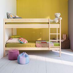 Lits superposés prêts à peindre Brut - Cox chambre - Mezzanines et lits superposés - Les lits - Chambre - Décoration d'intérieur - Alinéa