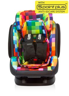 Hug Group 123 Isofix Pixelate (5 Point Plus), Car Seats from Cosatto | Cosatto