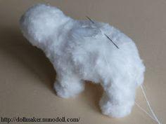 TECNICAS SOBRE MINIATURAS Y MODELISMO COFRADE: PELUCHES.OSOS. Plushie Patterns, Wire Art, Plushies, Polar Bear, How To Make, Baby, Bears, Panda Bears, Stuffed Toys