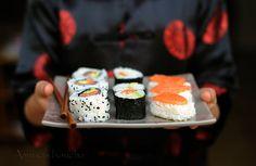 Sushi, Maki, California Rolls…un jeu d'enfant