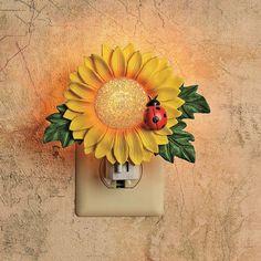 Sunflower Night-Light - OrientalTrading.com