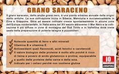 Il #granosaraceno è un cerale poco utilizzato ma ricco di proprietà e molto versatile in cucina. Utilizzato nella preparazione di primi, secondi e anche dolci e golosità.