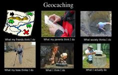 Geocaching summed-up.