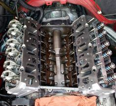 The heart of the supercharged L67 V6 motor. Ported heads from ZZP.