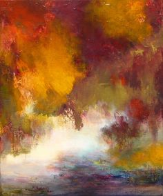 "Saatchi Online Artist: Rikka Ayasaki; Acrylic, Painting ""Passions 5098"""