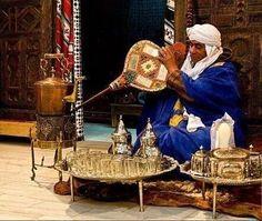 Sahrawi met thee cermonie