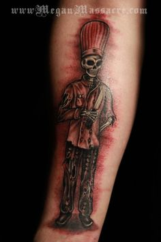 Skeleton Chef Tattoo by Megan Massacre great tatt by an awesome artist!!!