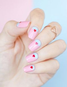 41 Beautiful Valentine's Day Nail Art Designs 2016