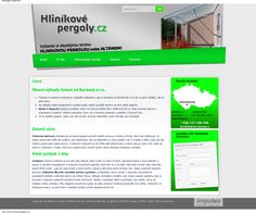 Webdesign & content for www.hlinikovepergoly.cz