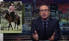 John Oliver Perfectly Explains Trump's 'Weird' Relationship With Putin   The Huffington Post