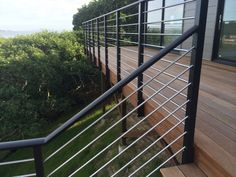 Our Wedge Lock 3000 system is a railing designed for the discriminating client who wants a product superior to standard cable railings.