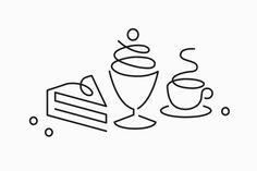 gifts icon Penser Bank Cookbook by Bedow BPamp;O Erik Penser Bank Cookbook by Bedow, Sweden.Erik Penser Bank Cookbook by Bedow, Sweden. Cake Logo Design, Branding Design, Icon Design, Web Design, Flat Design, Coffee Icon, Learning Logo, Cafe Logo, Star Wars Tattoo