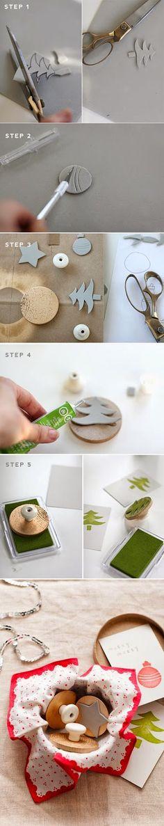 Un DIY muy útil para estos días de Navidad    http://say...