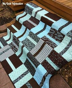 Super easy and cute! Could work well for boys, girls, couch blankets, baby blankets, etc. Think Ill try one!