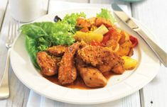 This is a good spicy grilled chicken recipe using chicken tenderloins. It is a healthy recipe that is easy to make and can be prepared on a gas grill or BBQ Roasted Vegetable Salad, Roasted Vegetables, Healthy Salads, Healthy Eating, Healthy Recipes, Recipe Using Chicken, Chicken Recipes, Spicy Grilled Chicken, Cooking With Olive Oil